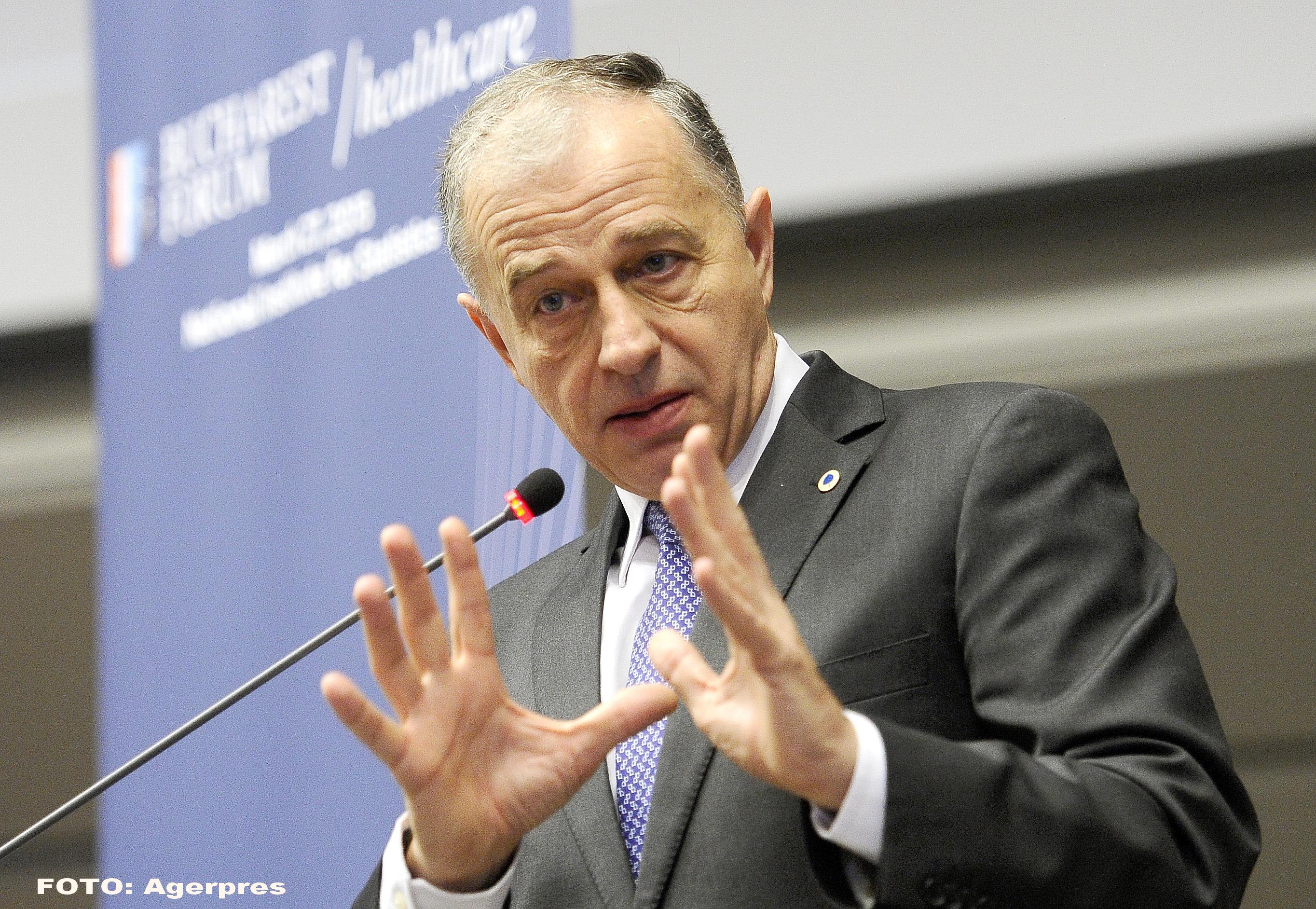 Fostul lider al PSD, Mircea Geoana: