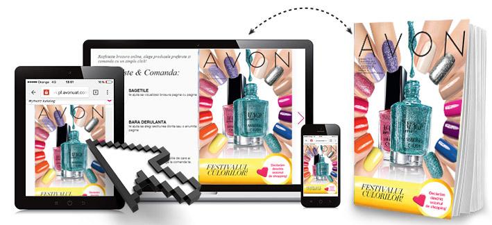 (P) Avon lanseaza e-brosura. Acceseaza acum si bucura-te de o noua experienta de shopping