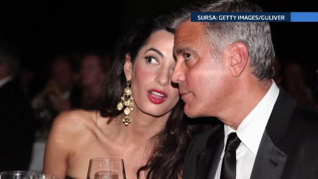 Momentul în care George Clooney a fost lovit și aruncat în aer 6 metri. VIDEO