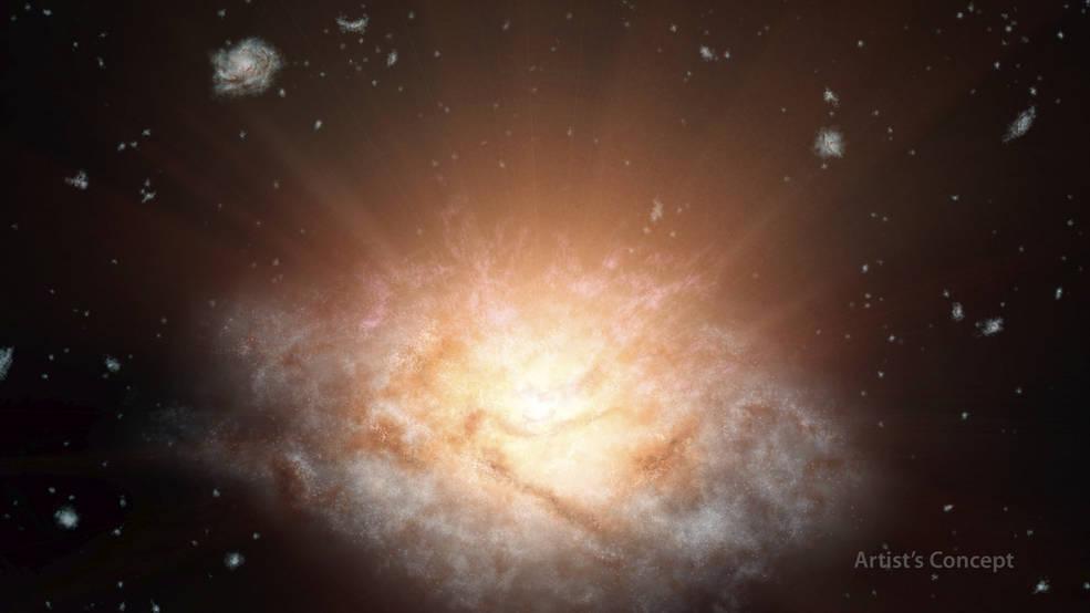 Un telescop al NASA a facut o descoperire foarte rara.