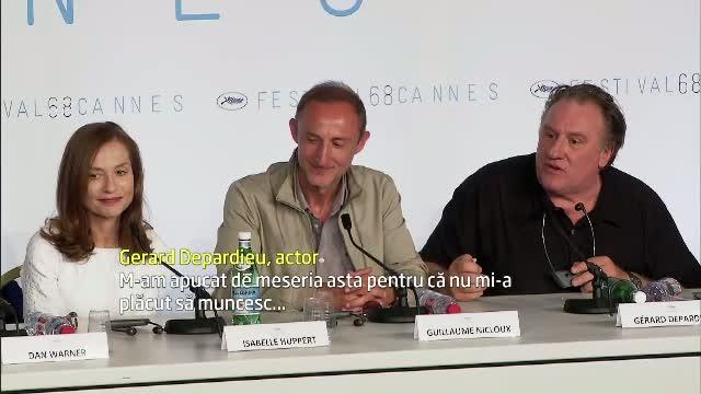 Cannes 2015. Gerard Depardieu a vorbit despre situatia din Ucraina si despre Rusia.