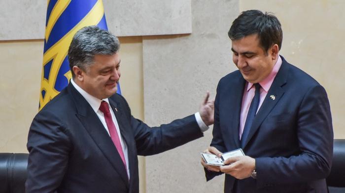 Fostul preşedinte georgian Mihail Saakaşvili, arestat la Kiev, a intrat în greva foamei