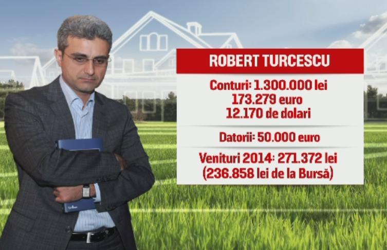 Turcescu, cel mai bogat candidat la Primaria Capitalei, cu jumatate de mil. de EUR in cont. Ce averi au ceilalti politicieni