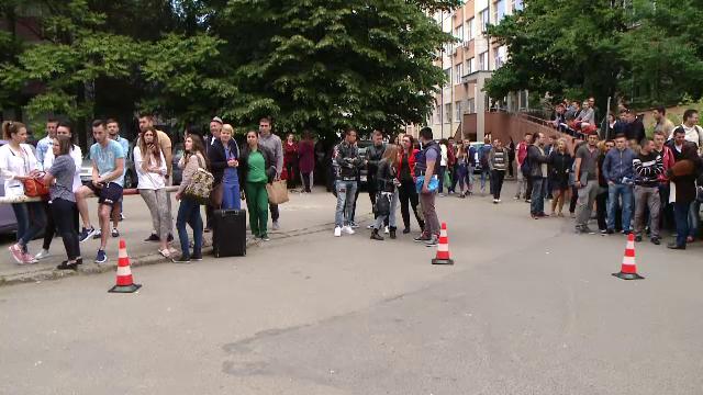 Panica intr-un camin din Timisoara. Pompierii au instituit partial planul rosu de interventie