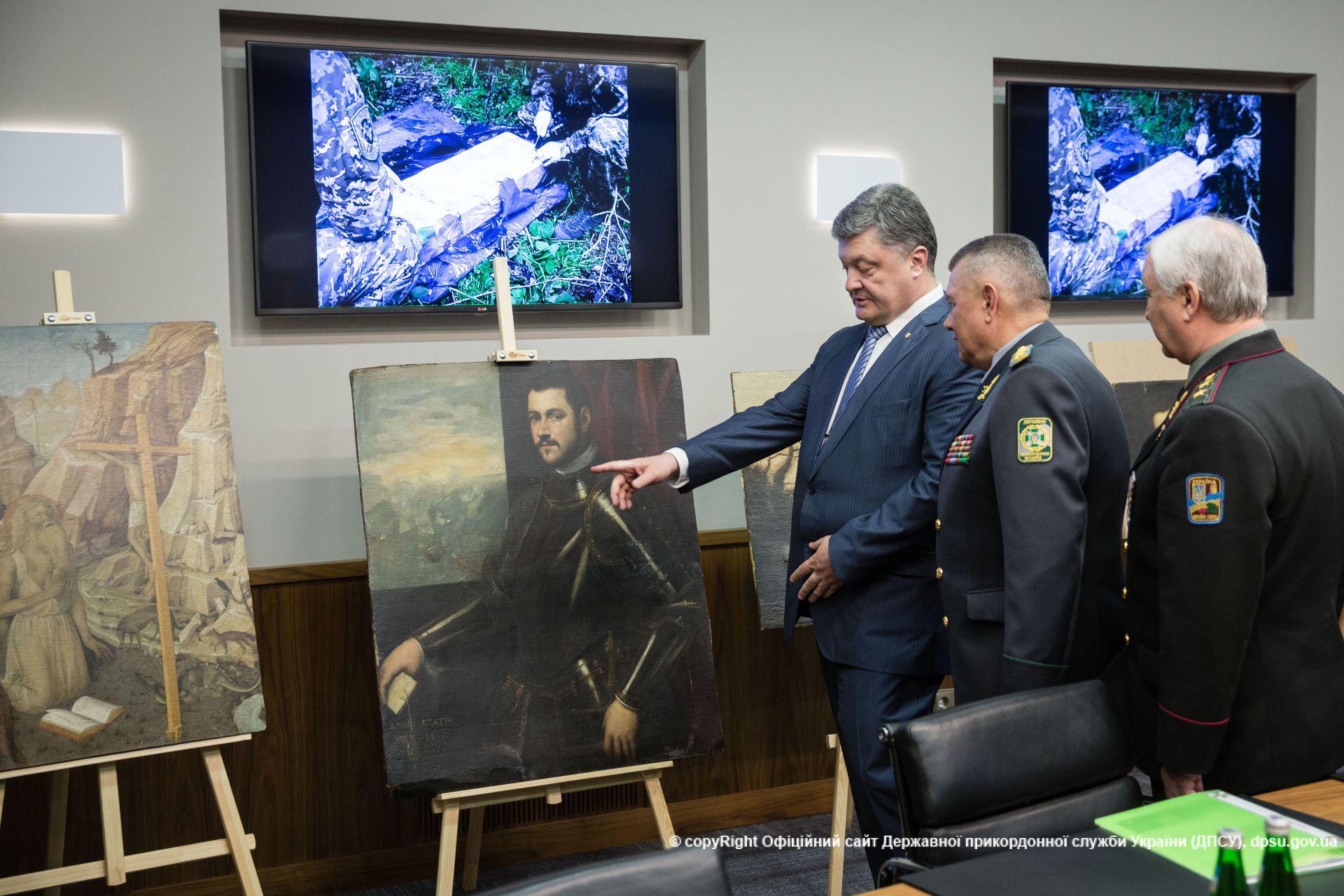 Cele 17 tablouri furate de moldoveni din Italia, gasite pe o insula nelocuita. Rolul jucat de serviciile secrete rusesti