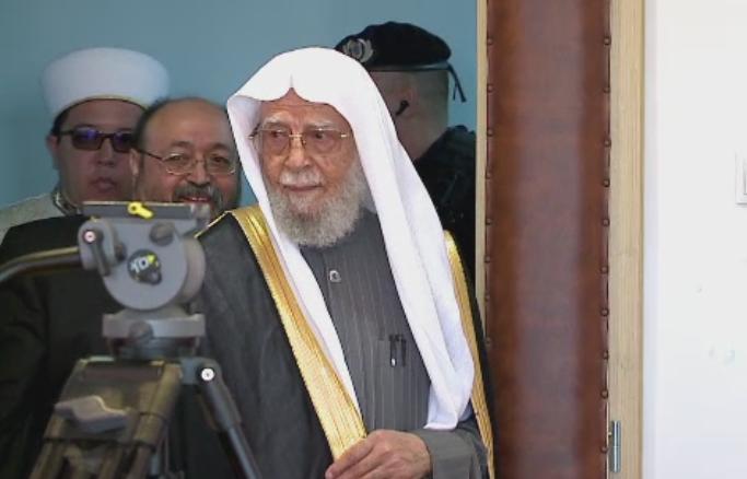 Masuri speciale de securitate la Universitatea Ovidiu, in timpul vizitei seicului Abdullah Bin Abdulmohsen Al-Turki