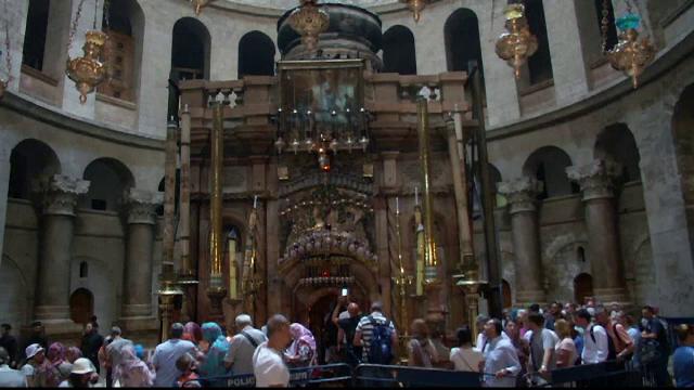 Decizie istorica luata de oficialii crestini in privinta Mormantului lui Iisus