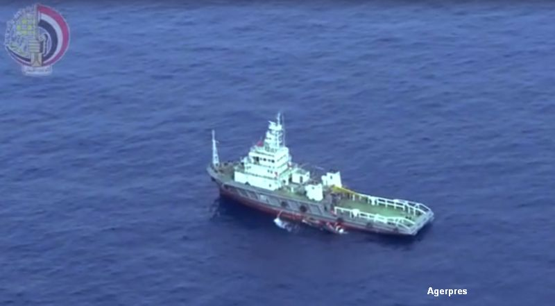 Surse: O cutie neagra a avionului EgyptAir, prabusit in Mediterana, identificata de o nava. Ce trebuie sa afle anchetatorii