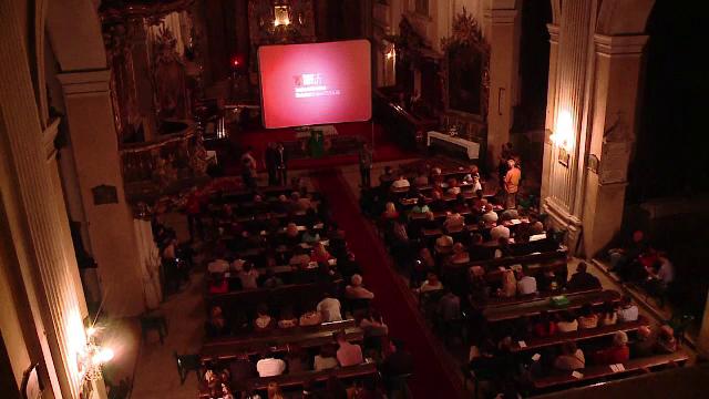 Moment inedit la TIFF. Un film clasic mut, proiectat in biserica, in timp ce un artist al Operei din Paris a cantat la orga