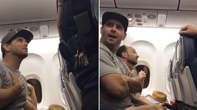 Familie data afara dintr-un avion al Delta Air Lines pentru ca a refuzat sa cedeze locul copilului lor de 2 ani. VIDEO
