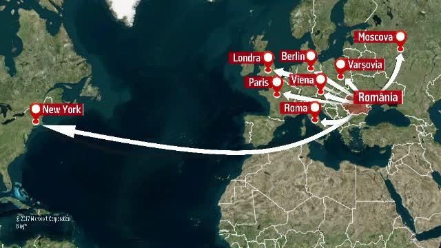 Opt oameni incaseaza, impreuna, 300.000 de euro pe an ca sa promoveze turismul romanesc. Unul dintre ei a si disparut