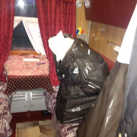 Ce aducea Trenul Prieteniei din Republica Moldova. Surpriza de proportii pentru politisti, in cuseta controlorilor