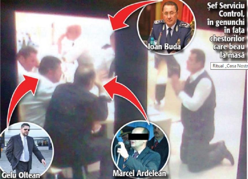 Ancheta la M.A.I. dupa ce in presa au aparut imagini cu seful Serviciului Control din Politia de Frontiera ingenuncheat