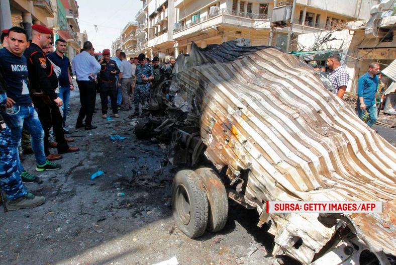 Un atacator sinucigas cu bomba, deghizat in femeie, a ucis 14 oameni intr-o tabara de refugiati din Irak. Cum a actionat