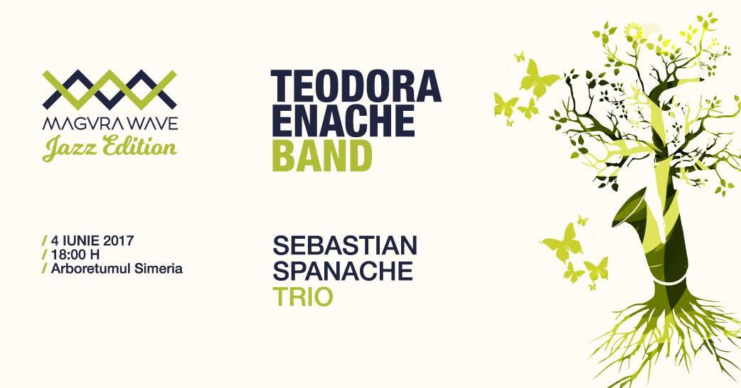 Magura Wave Jazz Edition, pe 4 iunie, in rezervatia naturala Simeria: Sebastian Spanache Trio si Teodora Enache