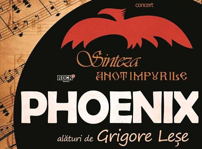 """Concert Phoenix în 14 mai, la Teatrul Național București: """"Sinteza – Rapsodia"""""""