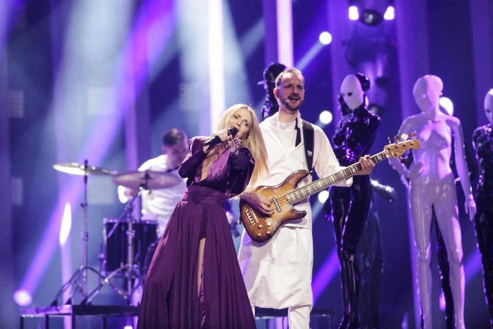 The Humans nu s-a calificat în finala Eurovison 2018. VIDEO cu momentul de la Lisabona
