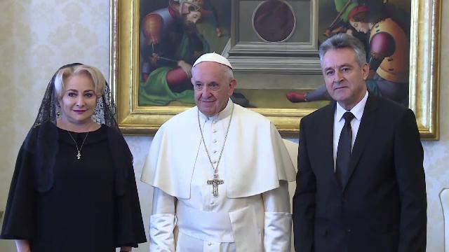 Reacția Bisericii Catolice după anunțul făcut de Dăncilă despre vizita Papei Francisc în România
