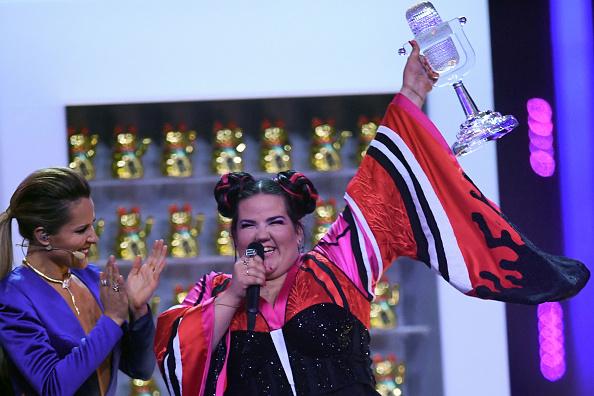 Câștigătoarea Eurovision 2018 a spart trofeul primit în finala competiției