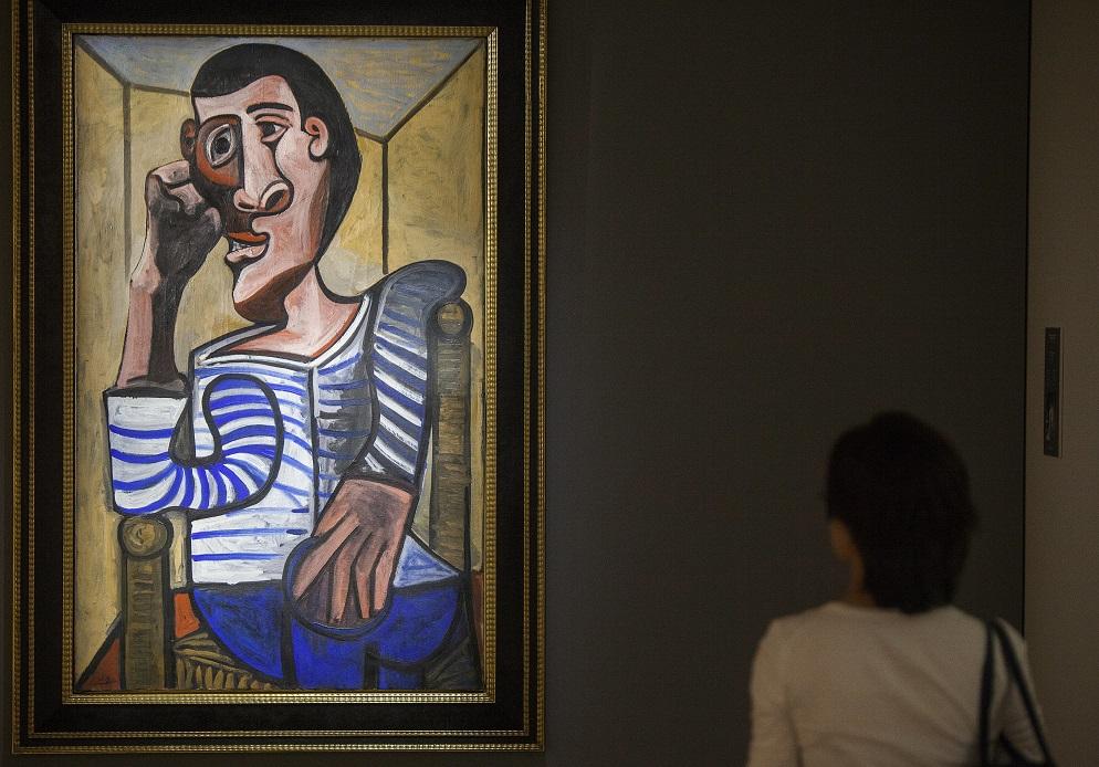 Unul dintre cele mai scumpe tablouri din istorie, deteriorat în timp ce era pregătit pentru licitaţie