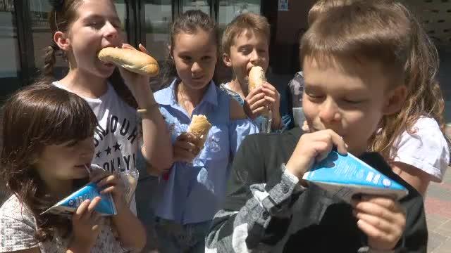 Urme de larve în cutiile de lapte pentru elevi, la o școală din Rodna. S-a deschis anchetă