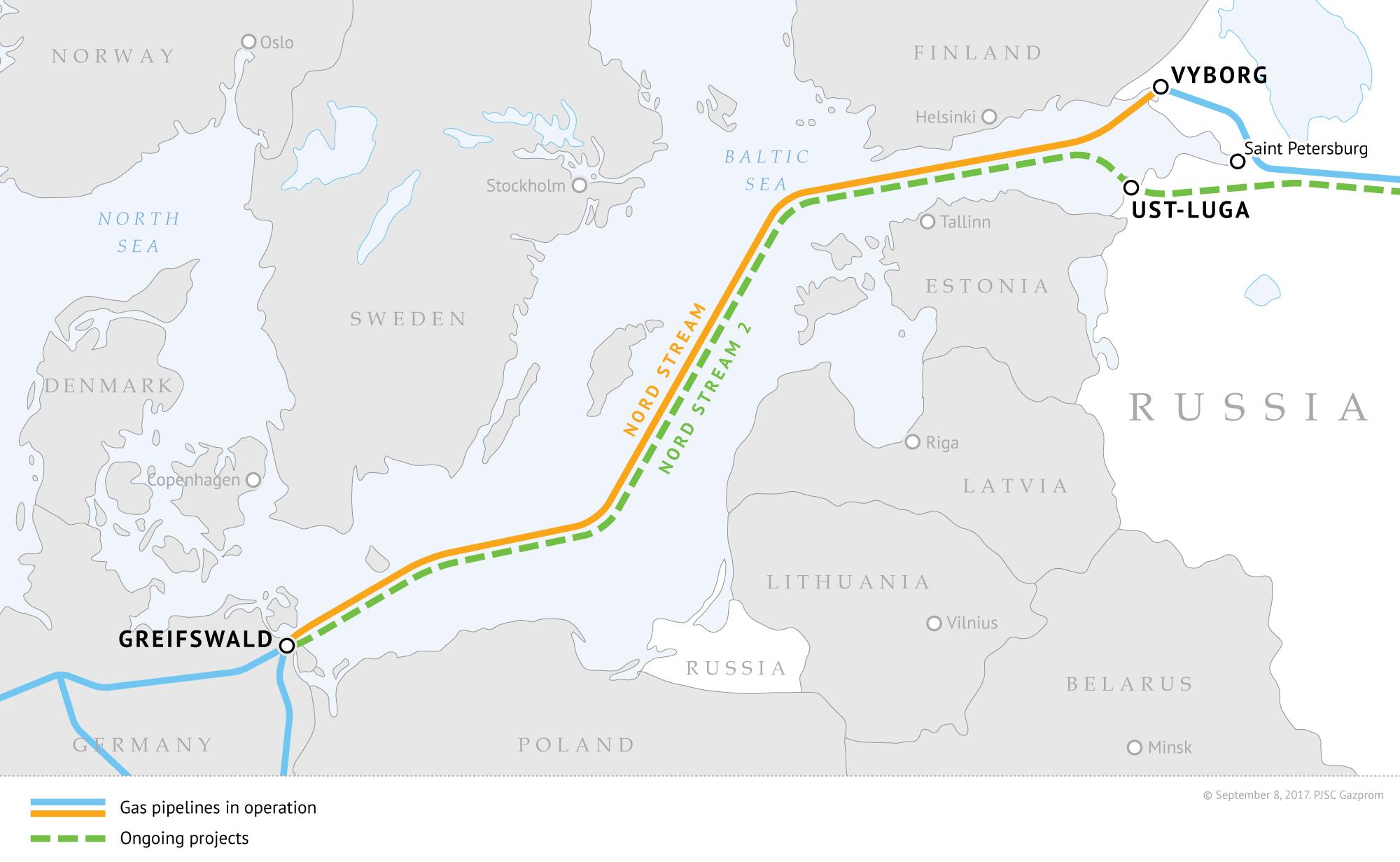 În Germania a început oficial construcția gazoductului Nord Stream 2. SUA amenință cu sancțiuni