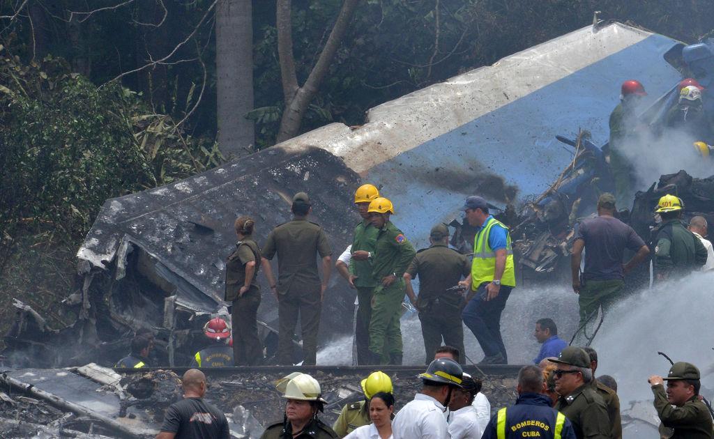Două zile de doliu național în Cuba, după accidentul aviatic din Havana