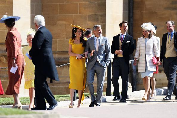 GALERIE FOTO. George Clooney și David Beckham, printre invitații celebri de la nunta regală