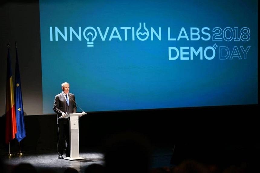 Iohannis, la Innovation Labs: Digitalizarea scăzută a economiei şi a administraţiei este o realitate