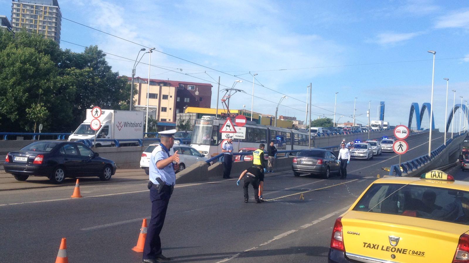 Pieton accidentat mortal, în zona Podului Văcărești din Capitală