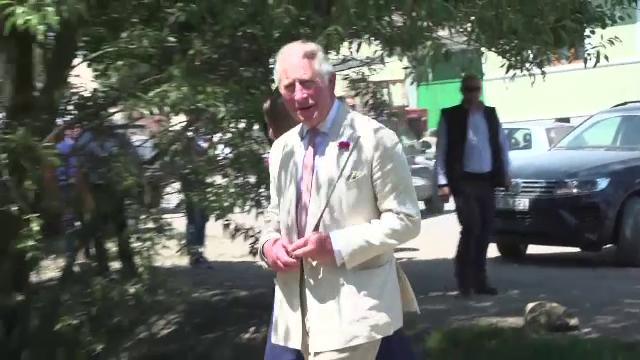 Prințul Charles, întâmpinat cu produse tradiționale la Viscri. Ce promisiuni a făcut