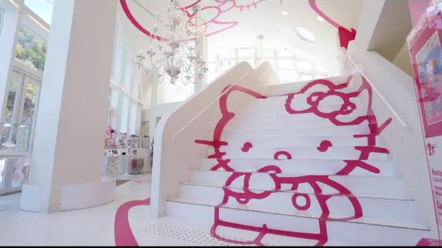 Cea mai îndrăgită pisică din Japonia, Hello Kitty, are mai nou nu unul, ci 4 restaurante