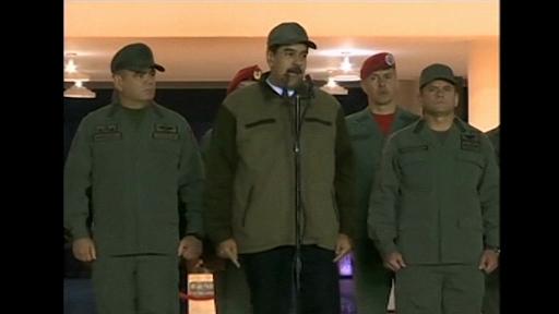 Maduro a cerut armatei să fie