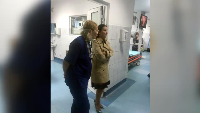 Sorina Pintea a vizitat un spital din Cluj premiat recent: mizerie, dezolant, dezorganizat