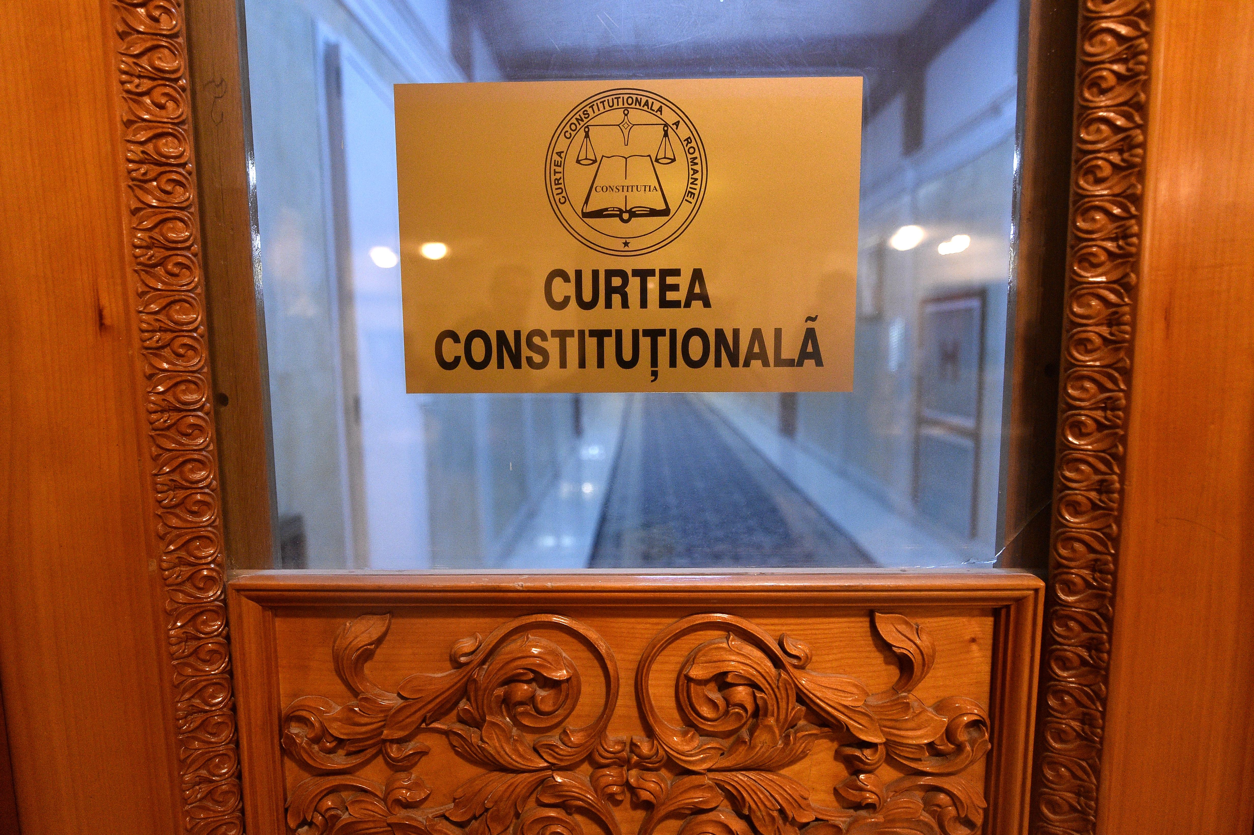 Curtea Constituțională analizează marți legalitatea investirii Guvernului Cîțu, la sesizarea AUR