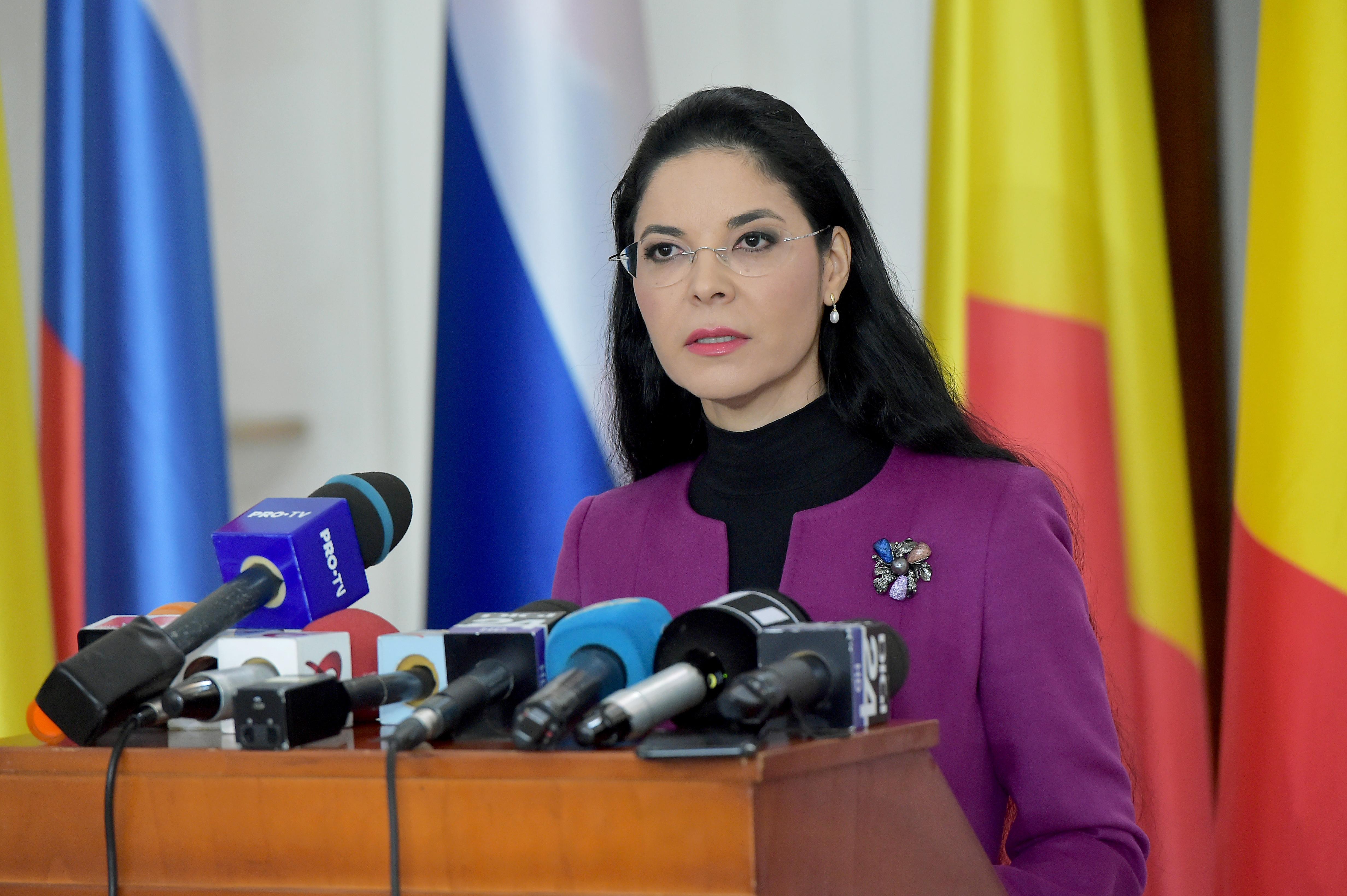 "Ana Birchall: ""Fake news - după ședința CEx am venit la Ministerul Justiției"""