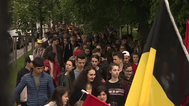 Antrenament pentru vizita Papei. Concurs european deschis cu o paradă în Capitală