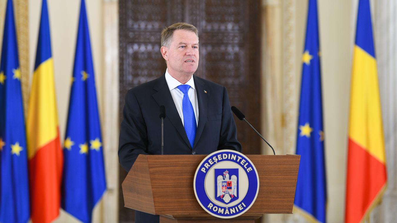 """Iohannis le-a propus partidelor parlamentare să semneze un """"pact pentru România europeană"""""""