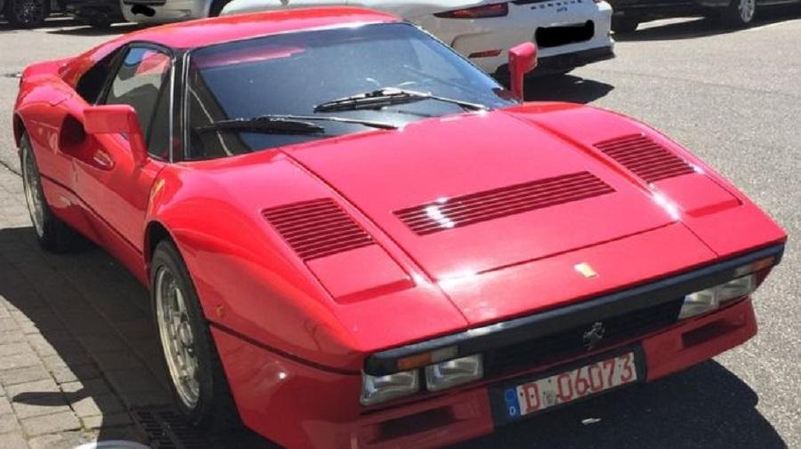 Ferrari de colecție furat în timpul unui test-drive. Mașina valorează 2 milioane euro