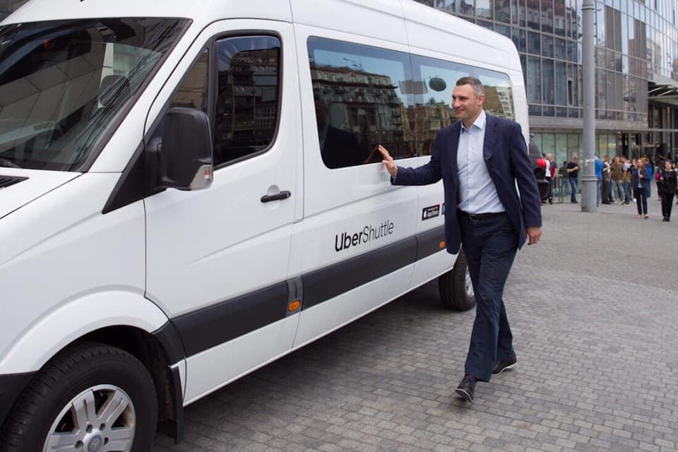 În Ucraina a fost lansat primul serviciu Uber din Europa de ridesharing de microbuze
