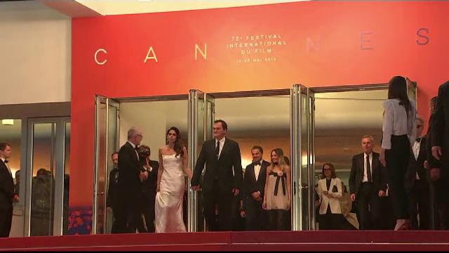 Tarantino, apariție spectaculoasă la Cannes. Cu cine a venit celebrul regizor