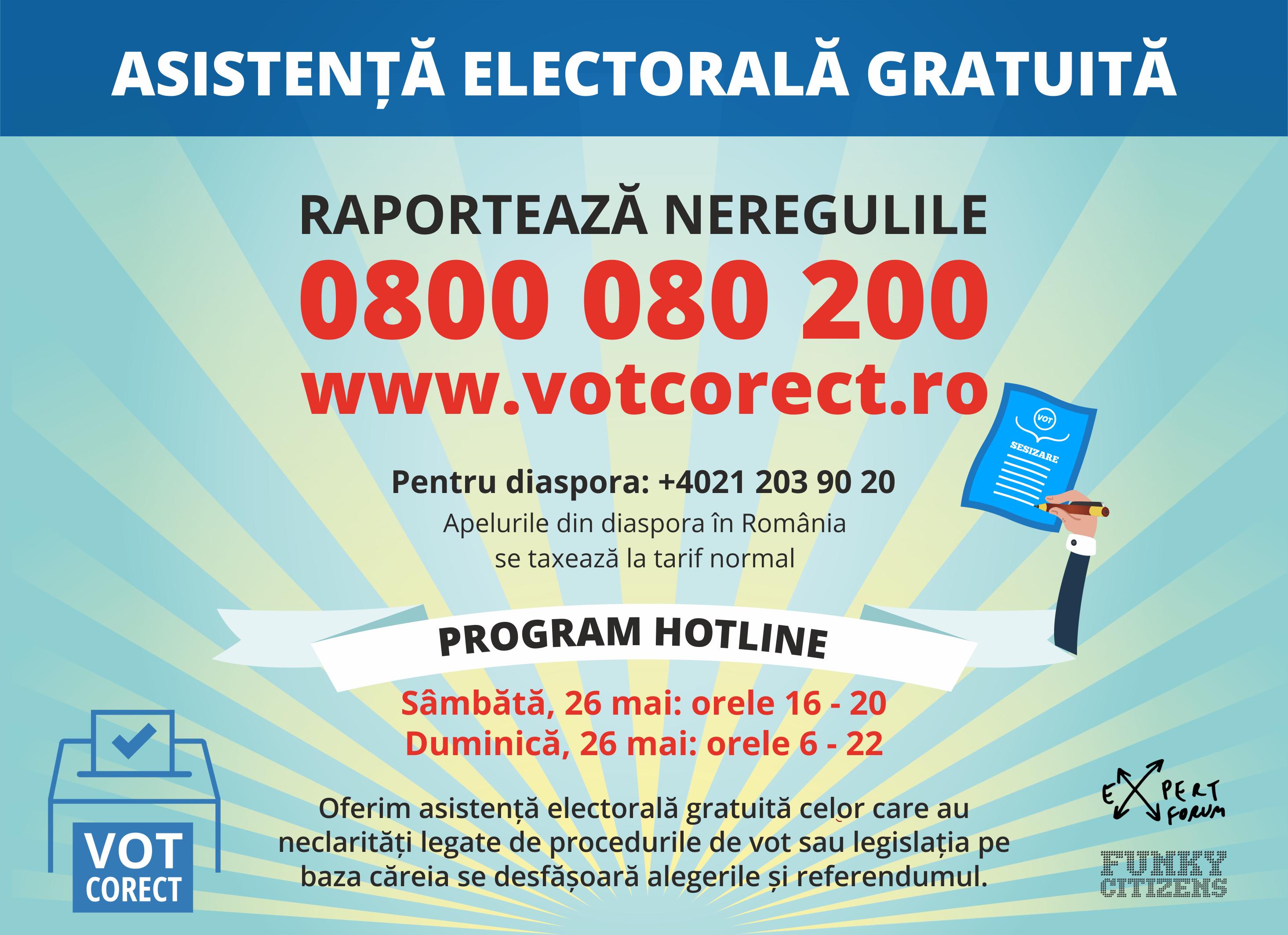 Centru de informare și asistență pentru alegerile europarlamentare și referendum