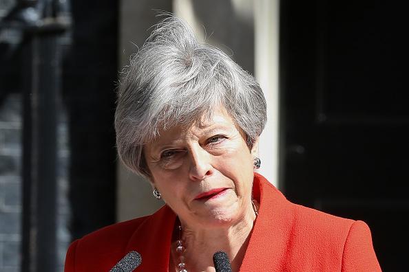 Theresa May a demisionat din funcţia de preşedinte al Partidului Conservator
