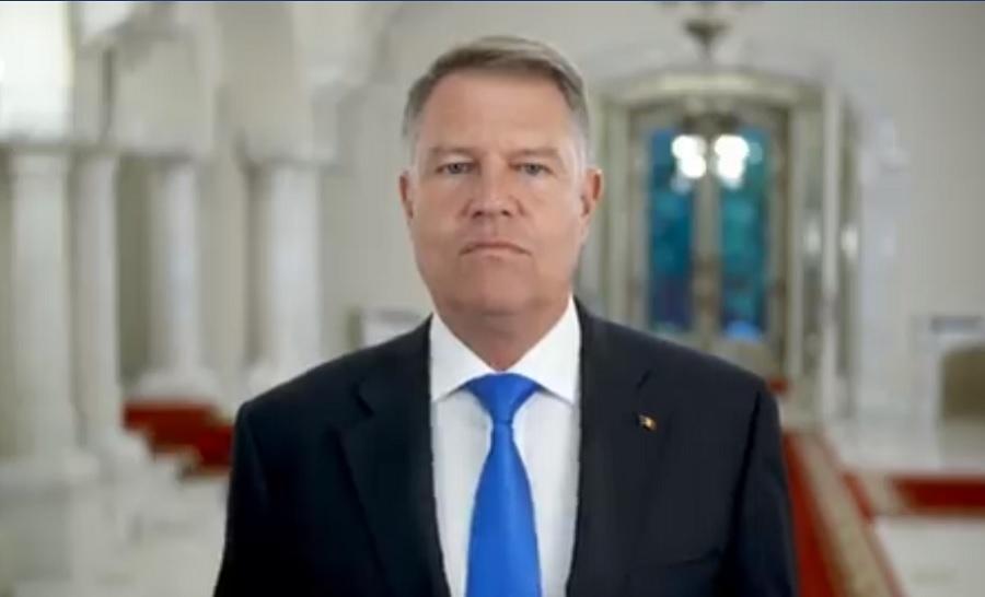 Ultimul mesaj al lui Klaus Iohannis înaintea alegerilor europarlamentare. VIDEO