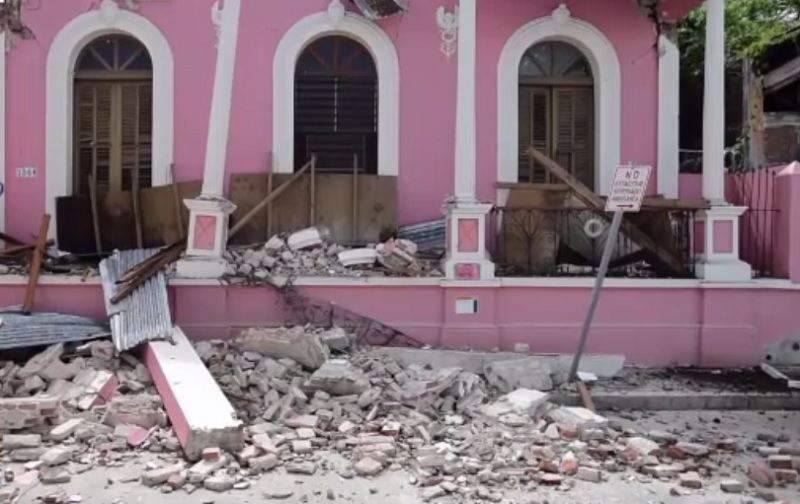 Cutremur cu magnitudinea de 5,5 în Puerto Rico. Mai multe clădiri au suferit pagube