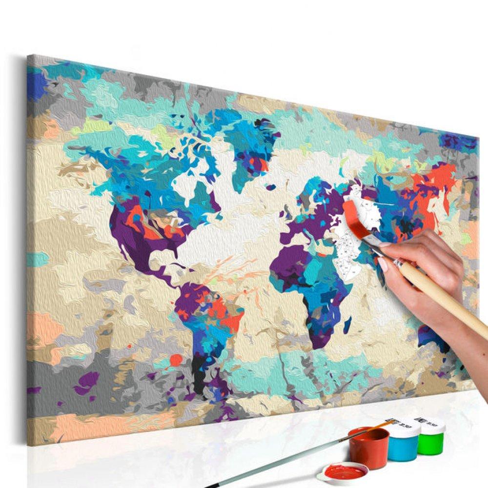 (P) O activitate ce te poate menține activ pe perioada pandemiei - pictura pe numere!