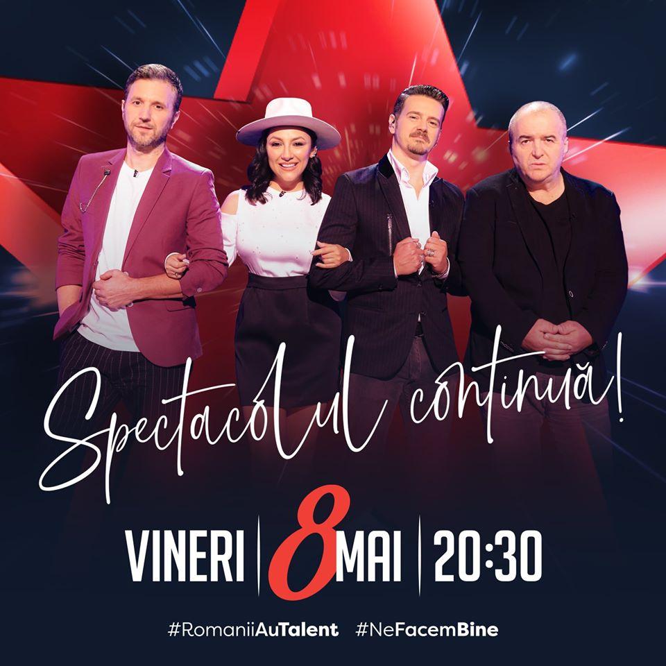 LIVE TEXT. Românii au talent 2020, sezonul 10. Povestea emoționantă a unei dansatoare va impresiona juriul