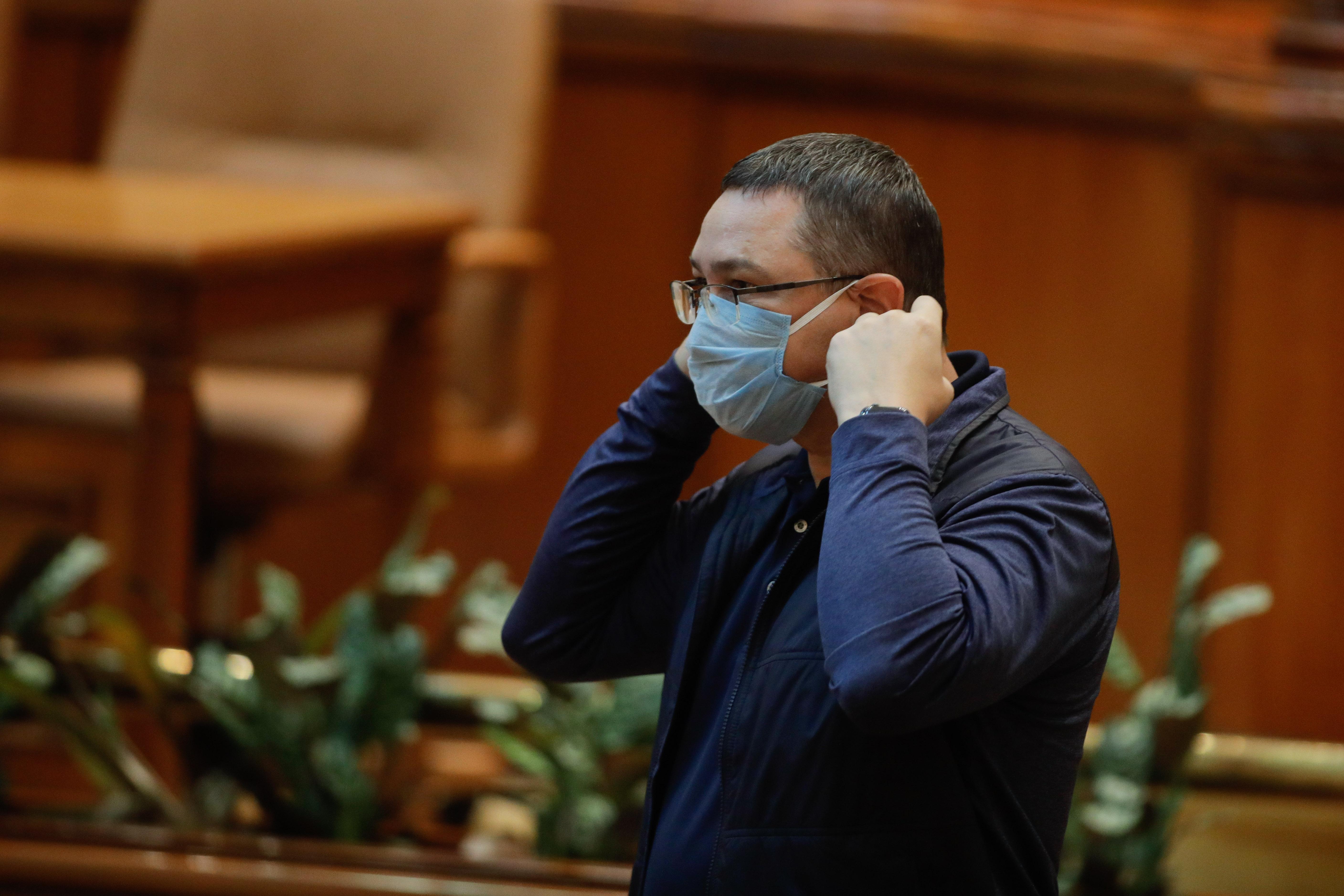 """Victor Ponta: """"90% dintre parlamentari habar nu au ce înseamnă starea de alertă"""""""