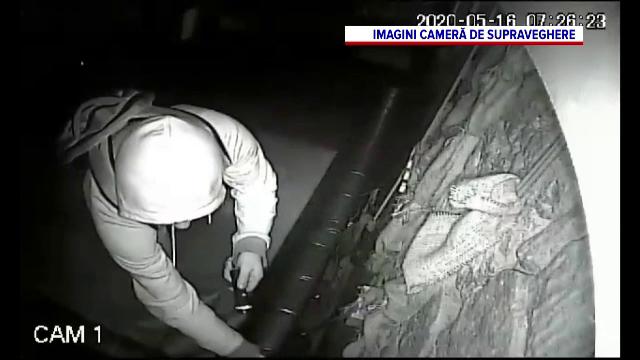 Furt cu peripeții în Cluj-Napoca. Ce a făcut un bărbat, înainte să dea o spargere