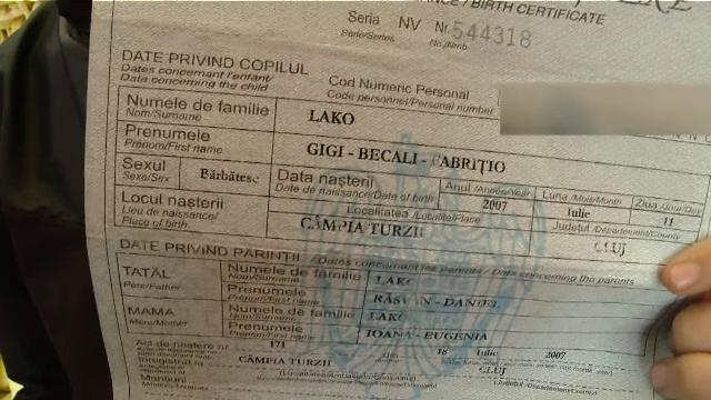 Gigi Becali Fabrițio are 14 ani și vinde legume în piață. Ce spun colegii despre numele său